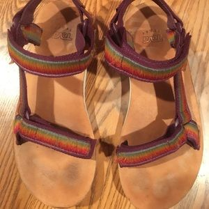c3f013919f3b Teva Shoes - Rainbow Tevas
